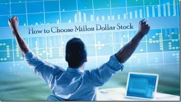 15 Chart-Secrets for Choosing a Million Dollar Stock