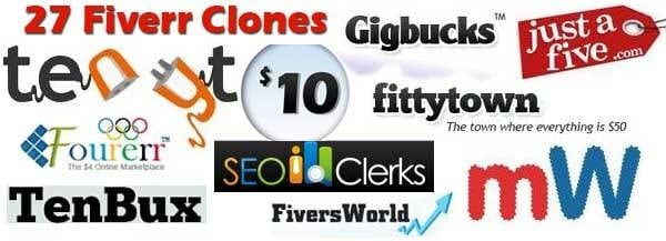 Fiverr Clone – Double Your Income from Top 27 Sites Like Fiverr