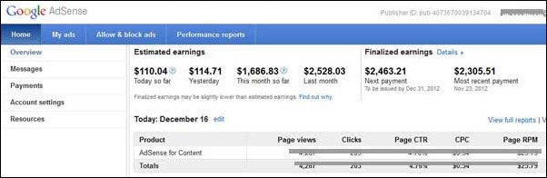 adsense-earnings-report