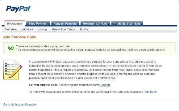 how to create paypal account in singapore