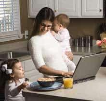 Part Time Jobs or Work from Home? Best Option for Moms