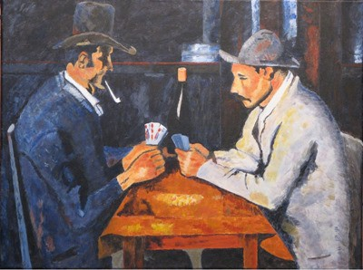 the card-players