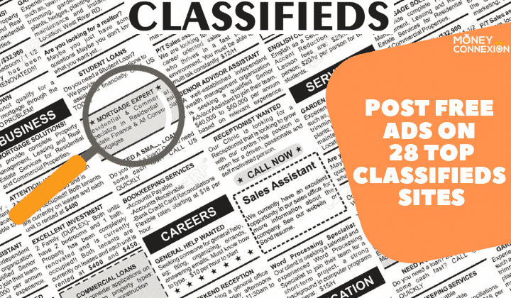 10000 free classified website list for ad posting