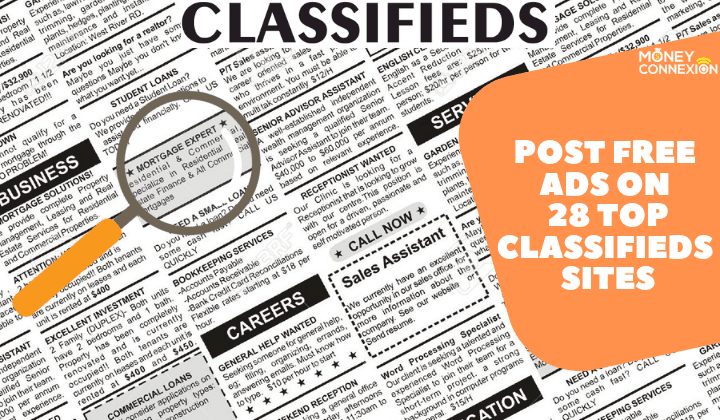Post Free Classified Ads on 28 Popular Classified Websites in India