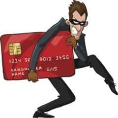 steal bank card info