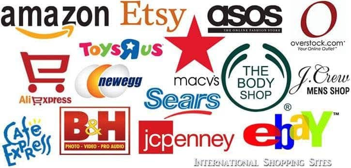 International Shopping Sites