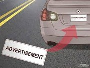 car bumper ads