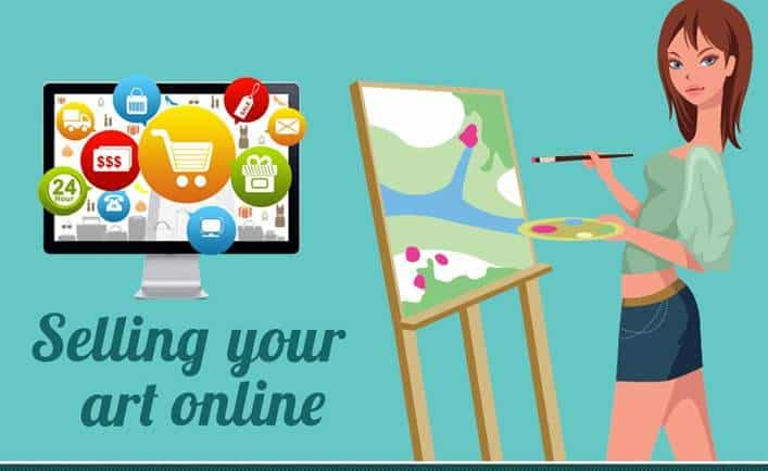 10 ways to make money by selling your art online for Sell art prints online
