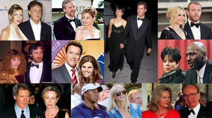 Expensive Celebrity Divorces