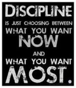 learn to discipline