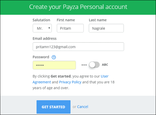 How to Create Payza Account & How to Receive & Withdraw Money