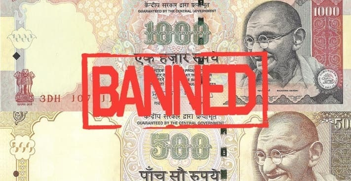 All You Need to Know About Ban on Rs 500/- & Rs 1000/- Currency Notes
