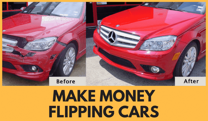 make money flipping cars