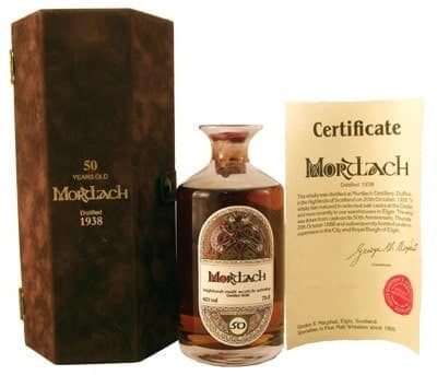 Mortlach 1938 Whiskey