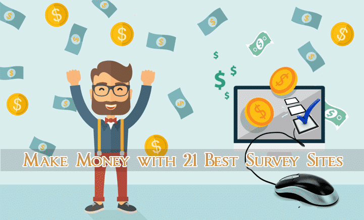 Get Paid to Take Online Surveys for Money with 21 Best Sites
