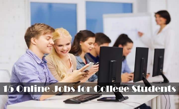 15 best online jobs for college students