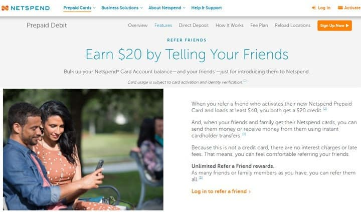 netspend free cash