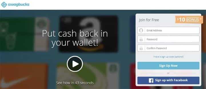 free money from Swagbucks