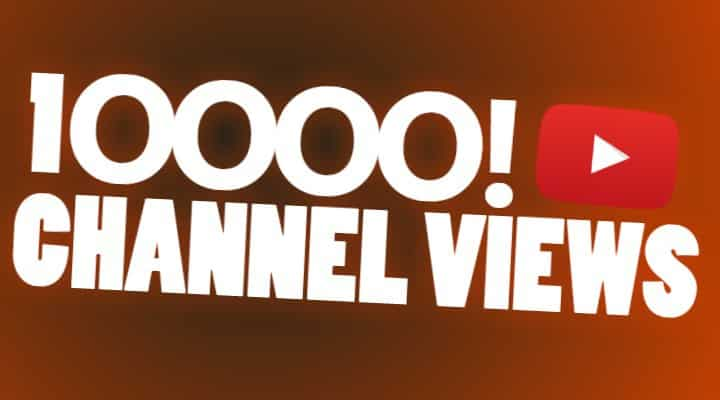 10000 channel views