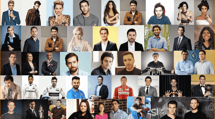 40 Youngest Self-Made Super-Rich and Famous