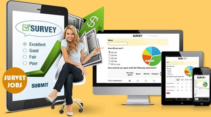 survey jobs from home