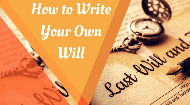 how to write a will