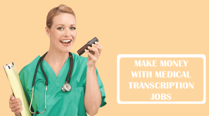 Online medical transcribing learn a