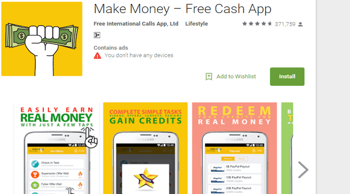 Play Apps For Money