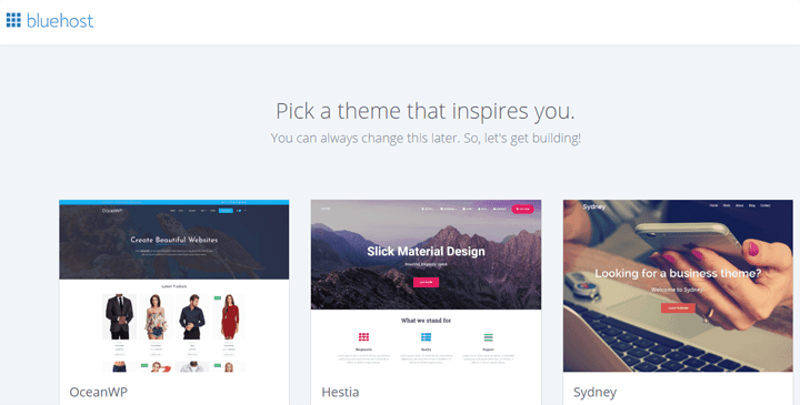 choose blog theme