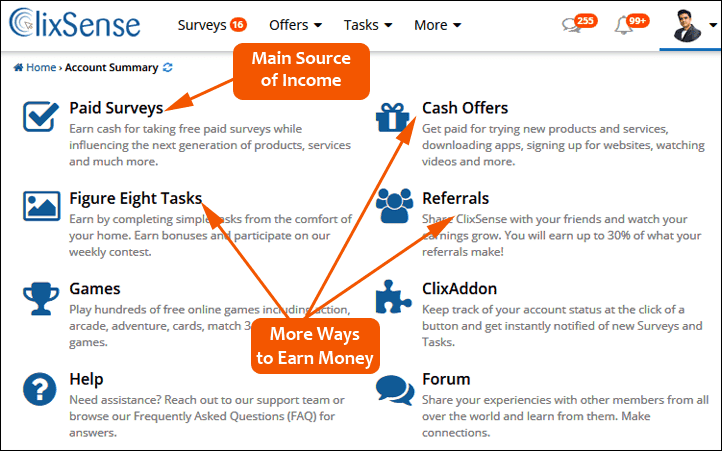 clixsense_earning