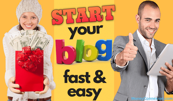 Image result for how to start a blog moneyconnexion