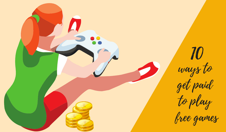 Get Paid to Play Free Games Online on these 15 Websites
