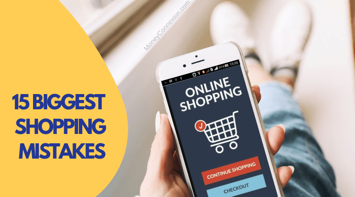 shopping mistakes