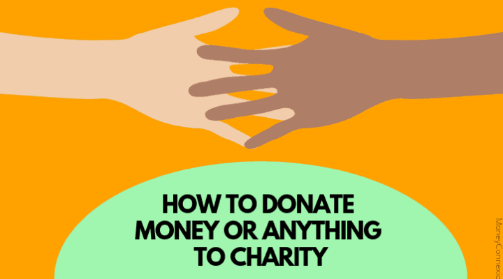 how to donate money to charity