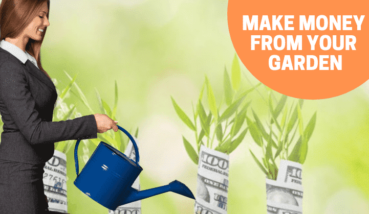 make money with garden