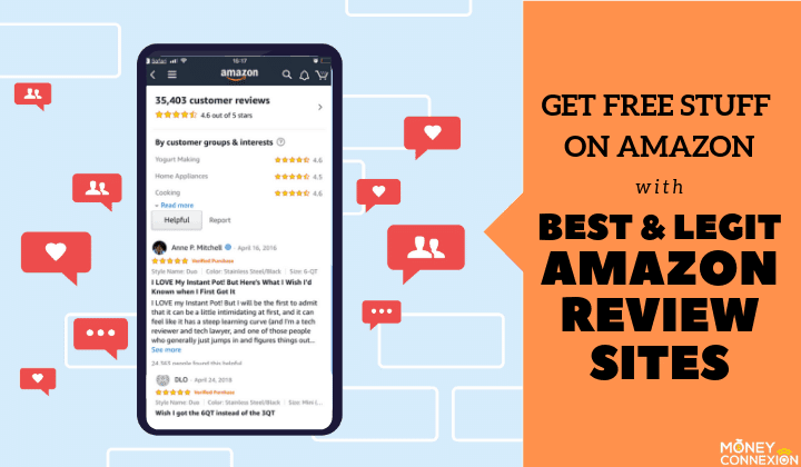 amazon review sites for free stuffs