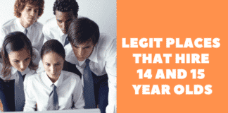 jobs for 15 year olds