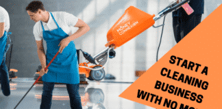 start cleaning business