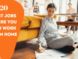 jobs where you can work from home