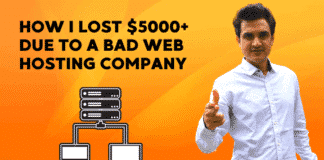 choosing web hosting company