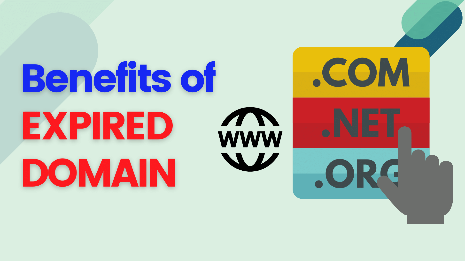 6 Great Benefits of Buying an Expired Domains
