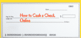 How to cash a check online