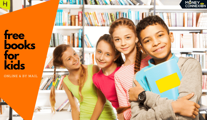 21 Ways to Get Free Kids Books Online and By Mail