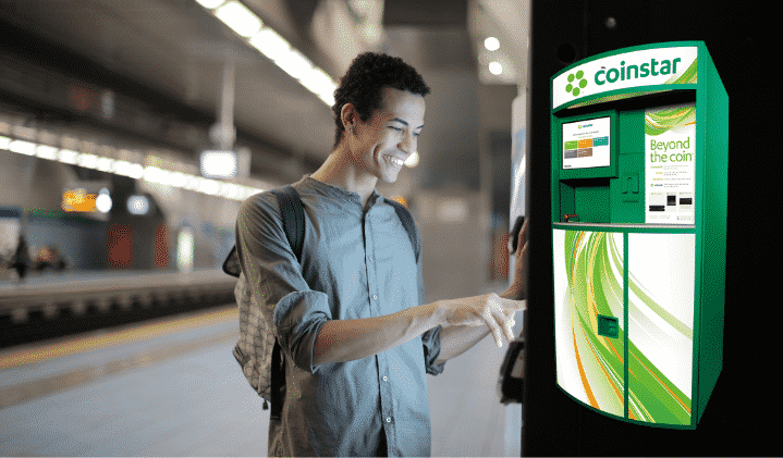 Exchanging Coins with Coinstar