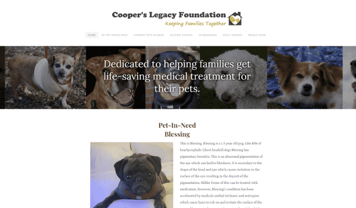 Cooper's Legacy Foundation