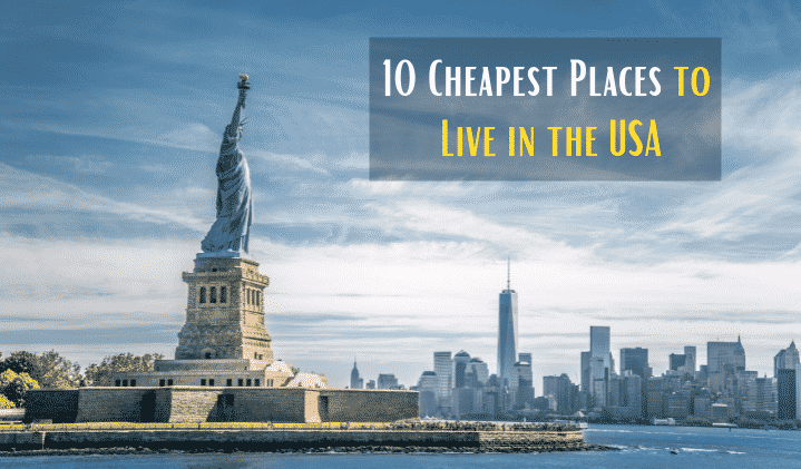9 Cheapest Places to Live in the USA